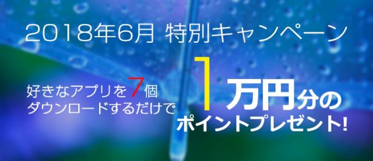i2iポイント アプリ7個で1万円のチャンス、本当に当たるんです