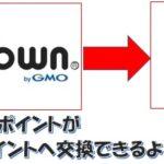 楽天ユーザーに朗報、ポイントタウンのポイントが1円から楽天スーパーポイントに交換できる
