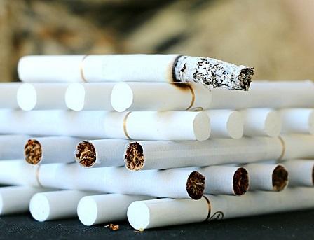 タバコを買うのをやめました。